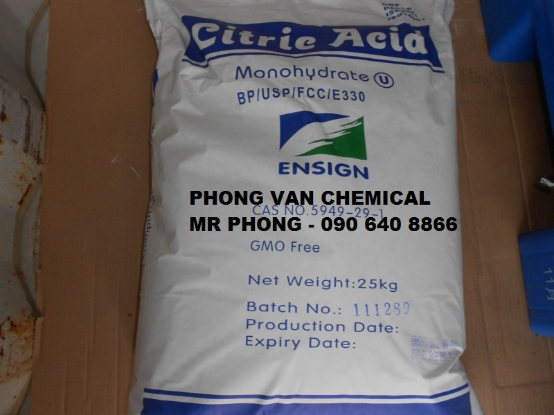 Acid Citric- Axit chanh